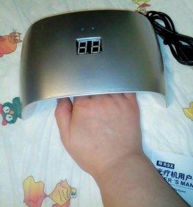 Лампа для сушки ногтей SUN 9x LED/UV 24