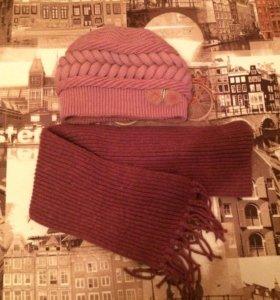 Продам шапку и шарф