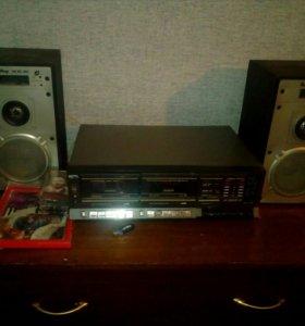 Аудиомагнтофон 80-х НОТА