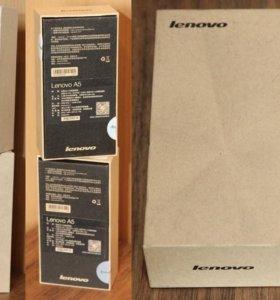 Коробки от сотовых телефонов Lenovo A5