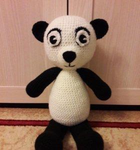 Панда вязаная 40 см🐼