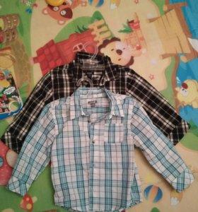 Рубашки Kiabi х/б 77-82