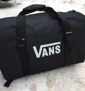Сумка Vans чёрная