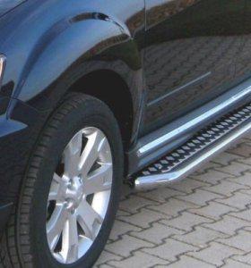 Mitsubishi Outlander Пороги Подножки
