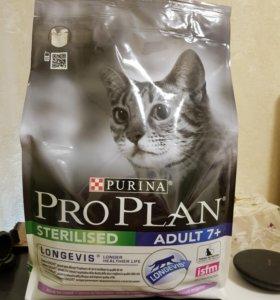 Корм ProPlan для стирилизованных кошек 3кг