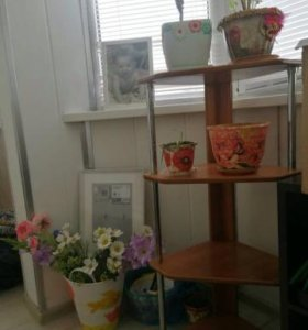 этажерка под цветы