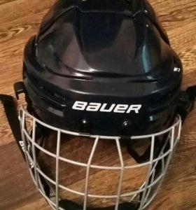 Детский хоккейный шлем с маской Bauer Prodigy