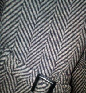 пальто шерстяное демисезон