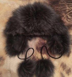 Шапка зимняя(чернобурка)