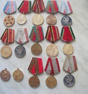 15 медалей в.о.в