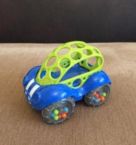 Машинка-погремушка Oball