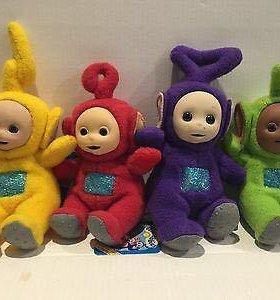 Телепузики разных цветов детская игрушка