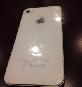 iPhone 4s silver 16gb