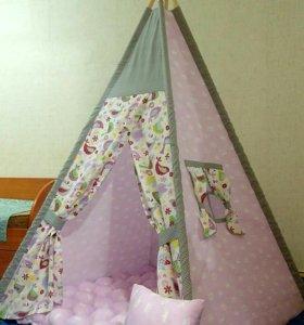 Вигвам, палатка, домик