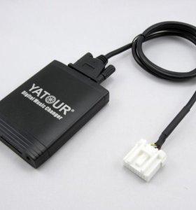 MP3 USB адаптер yatour YT-M06 на Mazda