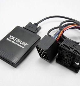 USB MP3 AUX адаптер Yatour YT-M06 на BMW/Ford/Opel