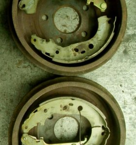 Барабаны+колодки на Ford Focus 2