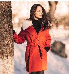 Пальто зимнее,новое
