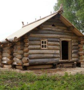 Дома из бревна хорошее качество
