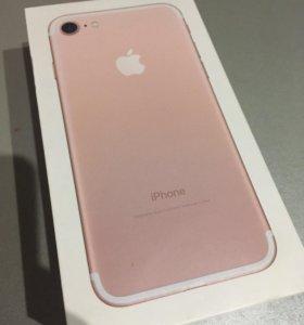 Коробка от IPhone 7 rose gold 32gb