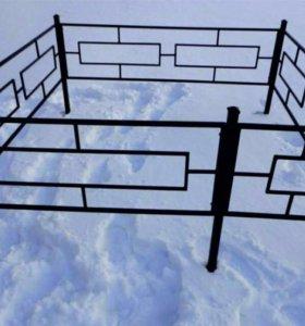 оградки лавочки столы