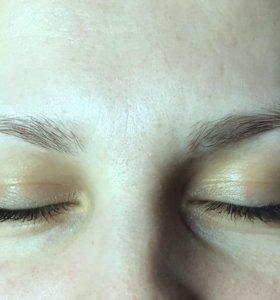 Перманентный макияж тренд сезона пудровые брови