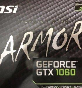 Msi GTX 1060 armor oc 6gb