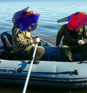 Лодочный мотор+ лодка