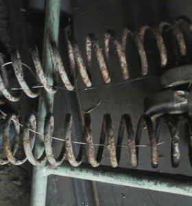 Пружины задние ваз 2109-14 б/у