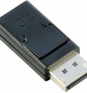 Адаптер Smartbay Displayport M - HDMI F