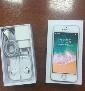 iPhone 5s 16 ГБ идеальное состояние