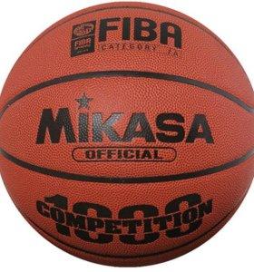 Мяч профессиональный баскетбольный Mikasa BQ1000