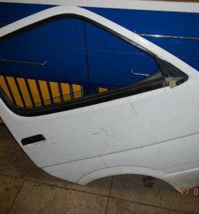 Дверь правая передняя Toyota HiAce Lh117 3L