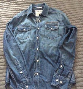 Рубашка джинсовая НОВАЯ Mexx