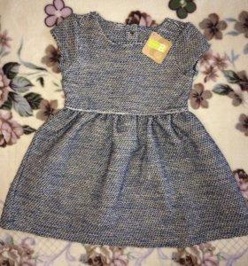 Новое платье на 92 см