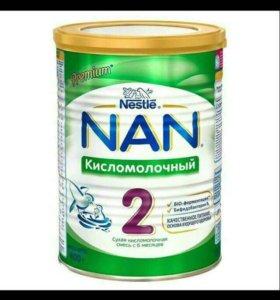 Смесь NAN 2 кисломолочный