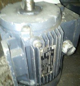 Эл.двигатель 220в, 0.75квт, 3000об/мин