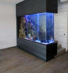 аквариумы террариумы тумбы