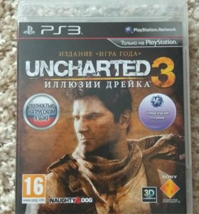 Uncharted 3 на PlayStation 3