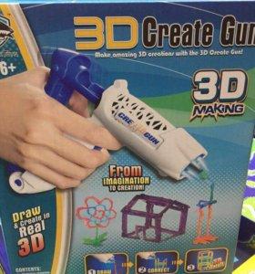 3д ручка-пистолет