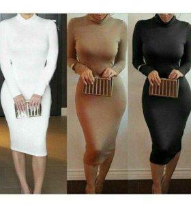 Платье на флисе