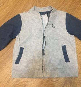 Костюм celvin Klein (кофта,футболка и джинсы)