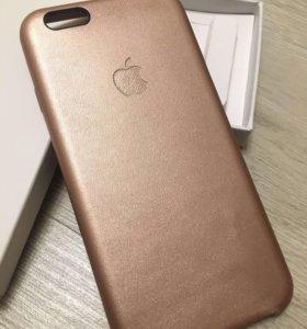 Кожаный Чехол для iPhone 6, 6s