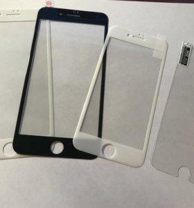 Защитное стекло на iPhone 6, 6+,7,7+,8,8+