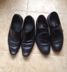 Туфли кожаные42р.