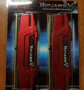 Новая DDR4 G.Skill ripjaws V