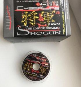 Леска 0,14 япония Shogun