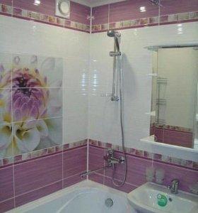 Плиточник.Укладка плитки.Ремонт ванных комнат.