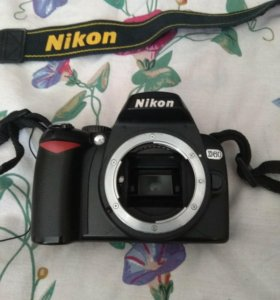 Зеркальный фотоаппарат Nikon D60