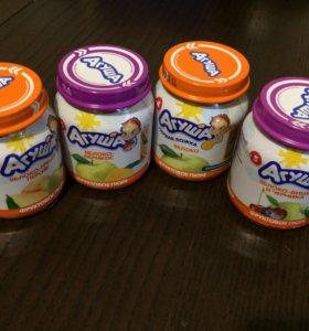 Пюре фруктовое Агуша 60 шт